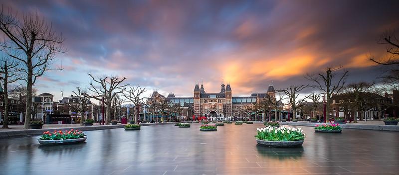 Rijksmuseum Amsterdam by Daan Wagner